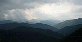 Orage sur la montagne